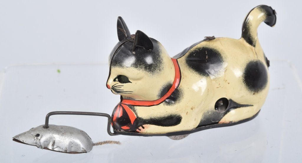 US ZONE GERMANY Tin Windup CAT & MOUSE