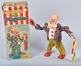 Boxed Clown the Magician by Alps