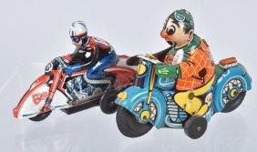 Two German Huki Motorcycles