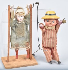 Two Early German Mechanical Toys