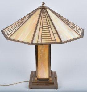 Fredrick Raymond Art Deco Style Lamp