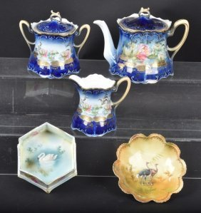 Lot Of 5 R.s. Prussia China Items