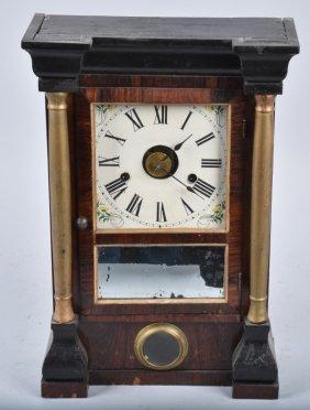 Antique Seth Thomas Shelf Clock With Alarm