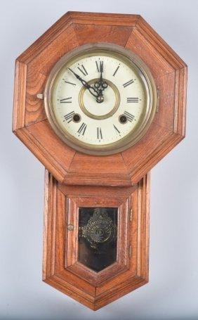 Regulator Style Vintage Wall Clock