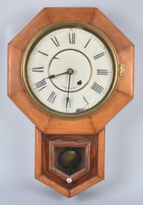 Seth Thomas Regulator Style Wall Clock