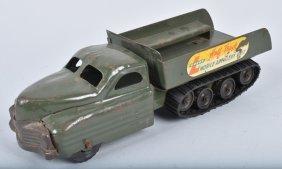 Buddy L Half-track Artillary Truck