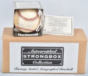 Willie Mays Autographed Baseball W/ Coa