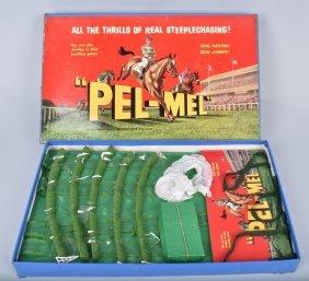Pel-me Steeplechase Game W/ Box
