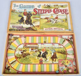 Parker Bros The Game Of Steeple Chase