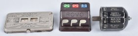 Lot Of 3 Early Hand Held Gambling Devices