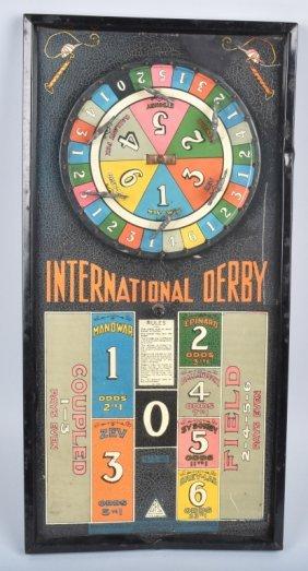 Gotham International Derby Roulette Game