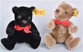 TWO STEIFF ORIGINAL TEDDY BEARS, 0202/14 & 0208/14