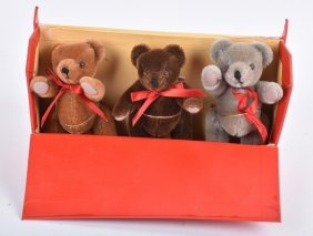 Limited Ed. Set Merrythought Teddy Bears