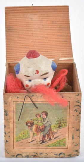 Early Clown Jack In The Box