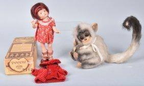 Boxed Effanbee Patsyette Doll
