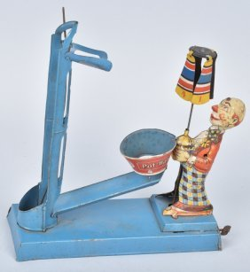 Pot-ball Clown Toy By Gely