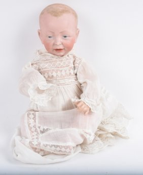 German Bisque K - Star- R, Baby Doll