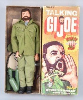 Gi Joe Talking Commander W/ Kung Fu Grip W/ Box