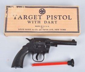 Marx Target Pistol W/ Dart Nos