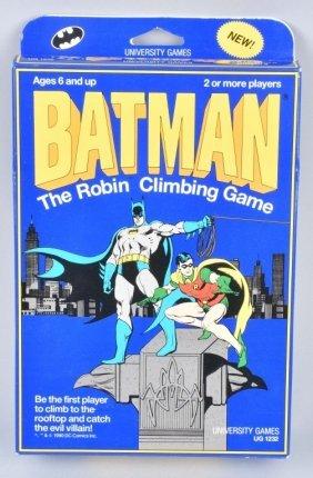1990 Batman The Robin Climbing Game Mib