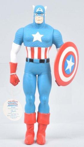 """14"""" 1991 Hamilton Presents Captain America W/ Tag"""