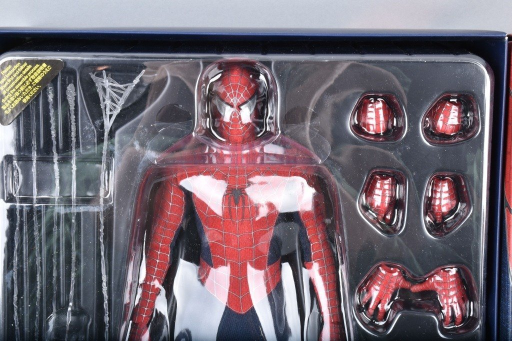 HOT TOYS SPIDERMAN 3 MMS 143 Limited Edition MIB - 2