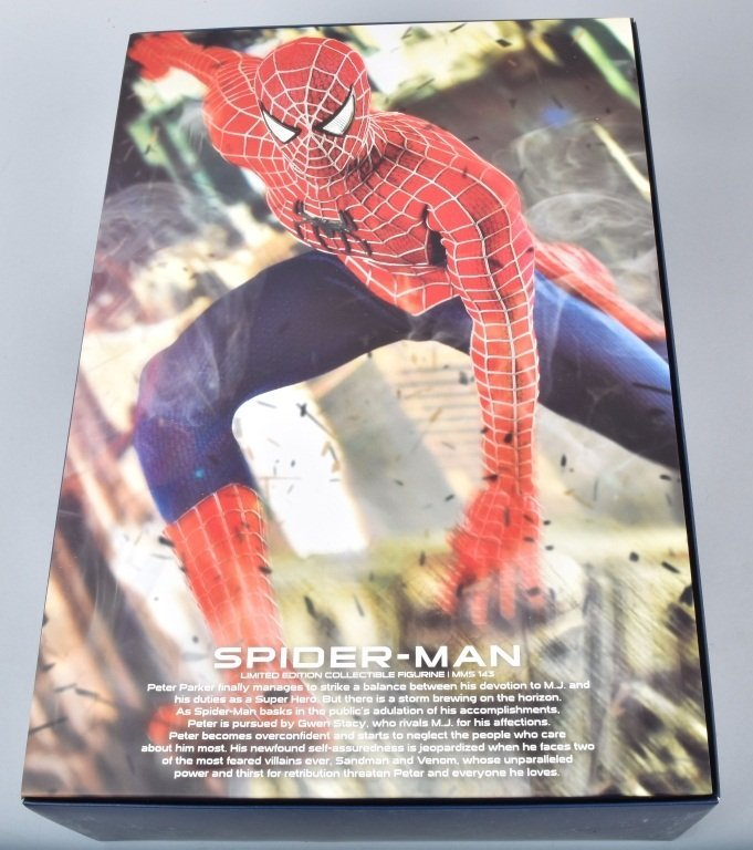 HOT TOYS SPIDERMAN 3 MMS 143 Limited Edition MIB - 4