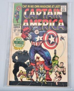 Marvel Captain America #100 1st Silver Age Sole
