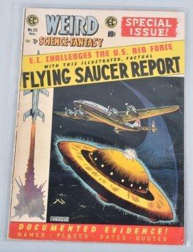 Weird Science-fantasy #26 Pre-code 1954