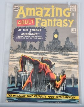 Atlas/marvel Amazing Aduly Fantasy #13 Vg