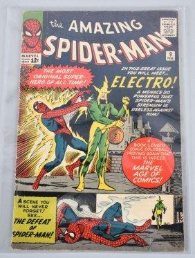 Marvel Amazing Spiderman #9 Key 1st Electro