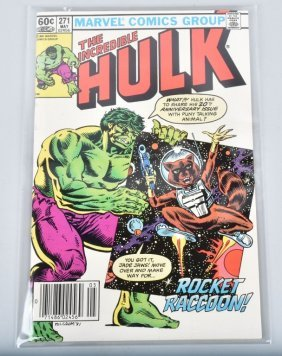 Marvel The Incredible Hulk #271 1st Rocket Racoon