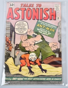 Marvel 1962 Tales To Astonish #38 Fn 1st Egg Head