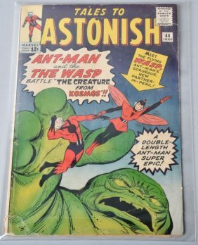 Marvel 1963 Tales To Astonish #44 Vg 1st App Wasp