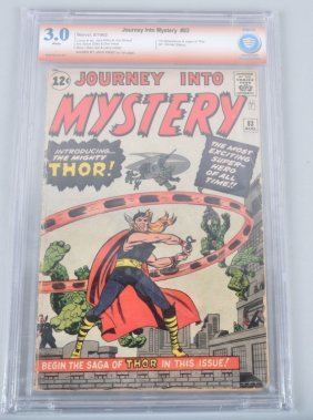 Journey Into Mystery #83 1st Thor Jack Kirby Signd