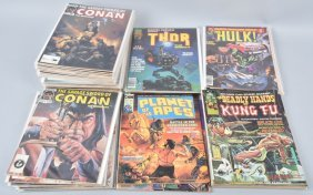 49- 1970s Marvel Comic Magazines