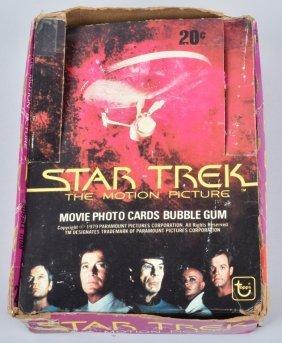 1979 Topps Star Trek Cards 16 Packs & Box