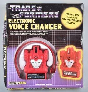1984 Nasta Trans Formers Voice Changer Mib