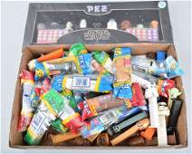 HUGE COLLECTION OF STAR WARS PEZ CONTAINERS