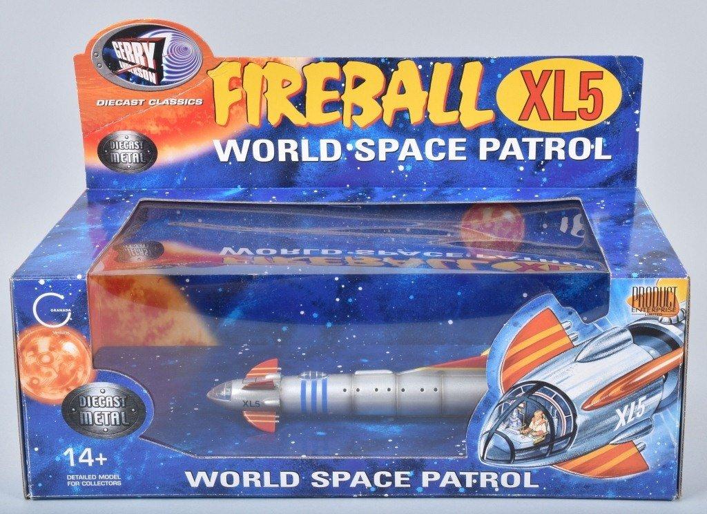 Gerry Anderson FIREBALL XL5 SPACE PATROL MIB
