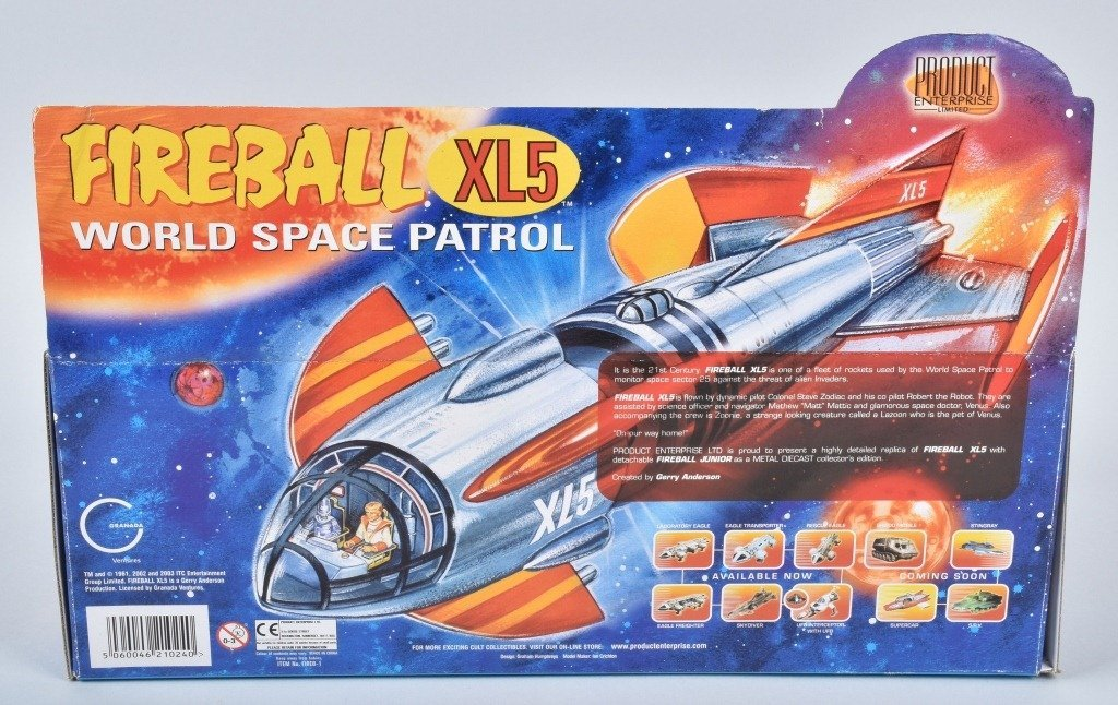 Gerry Anderson FIREBALL XL5 SPACE PATROL MIB - 3