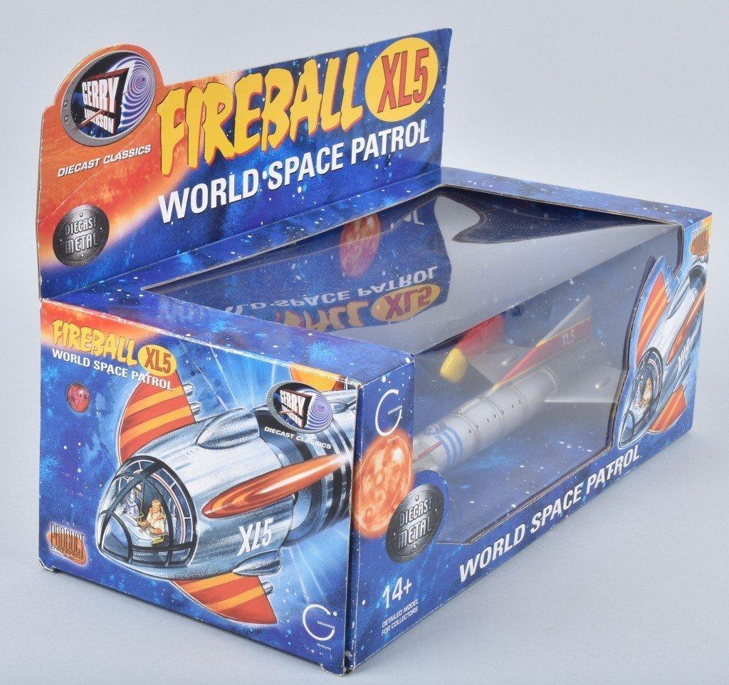 Gerry Anderson FIREBALL XL5 SPACE PATROL MIB - 5