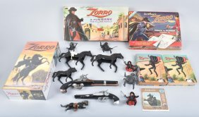 Zorro Lot Of Misc Collectables