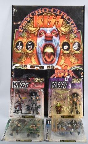Kiss Psycho Circus Memorabilia