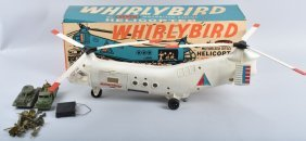 Remco Whirleybird Motorized Helicopter In Box