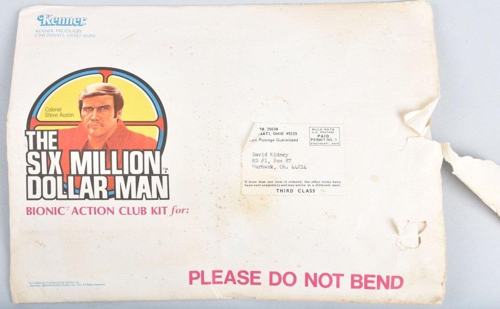 SIX MILLION DOLLAR MAN & B.M.V. VEHICLE & CLUB KIT - 6