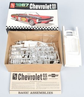 Amt 1967 Chevrolet Ss 427 Convertible Model Kit