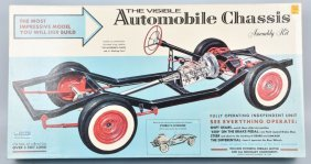 Renwal Visible Automobile Chassie Model Kit Mib