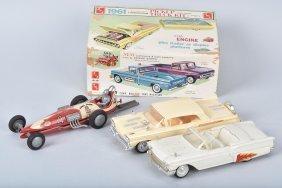 3- Vintage Models & Box