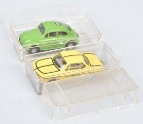 Vintage Faller Ho Slot Cars Lot Of 2